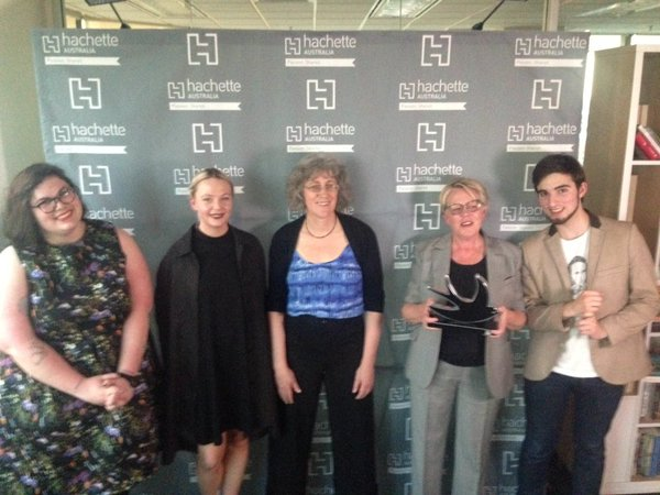 Richell Prize shortlist, from left to right, Brodie Lancaster, Ellena Savage, Lyndel Caffrey, Sally Abbott and Jonathan O'Brien