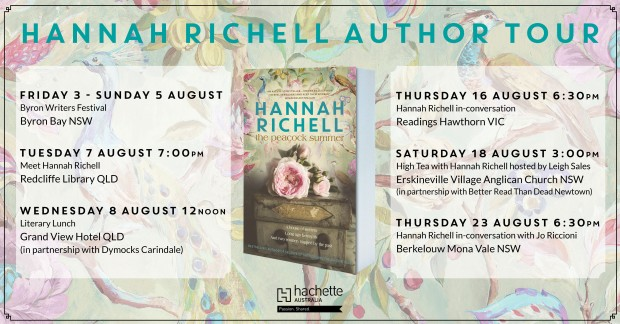 Hannah Richell TOUR FB